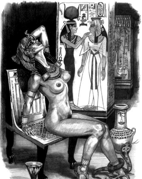 фото древний египет порно